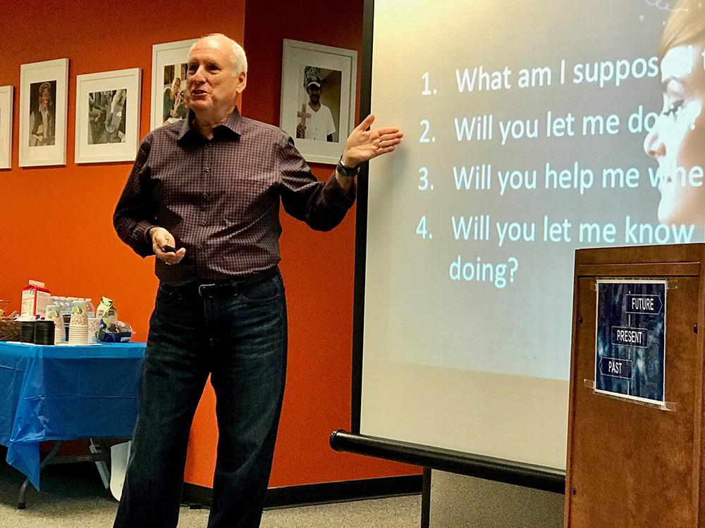Popular leadership speakers Hans Finzel